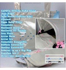 Capota Silla Rider, Muum, Bugaboo, BebeCar, Bee, Concord, Uppa Baby Vista, Quest, Nano, Iru MyCandela