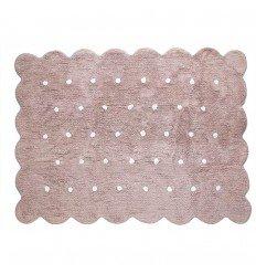 Alfombra Infantil 100% Algodón lavable en lavadora Colección Cookie Topo 120x160 cms