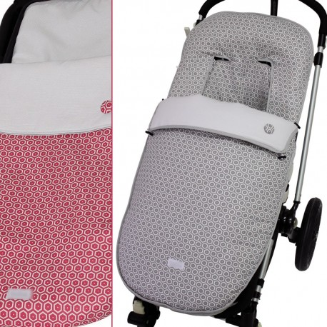 Saco Paseo Silla Ibaby, Icandy, Icco, Etc. MyPanal Grey / Red
