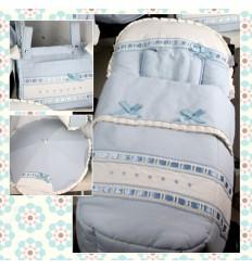 Opciones Saco Silla Varios Patrones/Complementos MyMarie Azul
