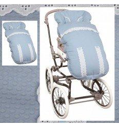 Saco Silla Primera Edad: Bebecar, inglesina, etc. MyClassic Blue