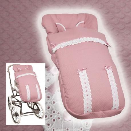 Sacos de Paseo Bebé Inglesina y Bebecar (sacos anchos) MyClassic Pink