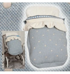 Saco de silla Invierno Universal MyCaricias Blue