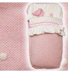 Saco Bebé Silla Universal MyCaricias Pink