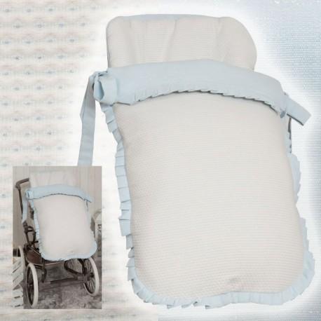 Saco de silla Arrue Primera Edad y sillas anchas MyDestellos Blue