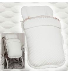 Saco de silla Apto Inglesina, Bebecar, peg perego, etc. MySweet White