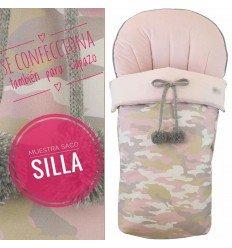 Saco Silla Polipiel Estampado MyCamufflage Pink