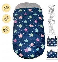 Saco Silla Estrellas Multicolor Impermeable Universal