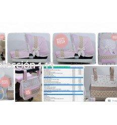bebeconfort loola: capota y funda cubreparedes y lazo conforme color y detalles whatsapp