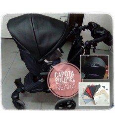 Capota Concord Neo Polipiel (Celeste, Rosa, Blanca, Cámel, Blanca, Negra, Roja o Marino)