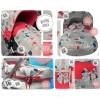 Silla y capazo y grupo 0: capotas, bolsos, sacos, fundas, etc. Modelo 02-25