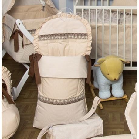 Colección artesanal 554:Sacos para sillas de paseo maclaren o ligeras ( F)