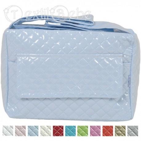 2c70bb3d7 Bolso Mediano Plastificado Castillo de espuma - Textil Bebé