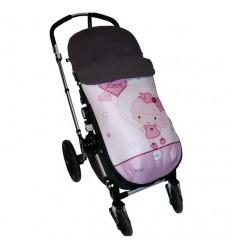 becky: Saco Entretiempo para Carro Universal Válido para Bugaboo y sillas estádar y tipo paraguas (silla recta)
