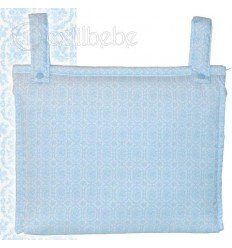 Bolso Talega Silla|Cochecito Bonny Azul
