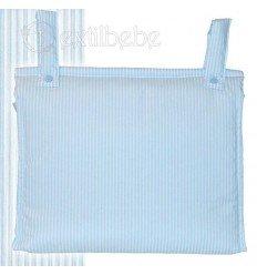 Bolso Talega Silla|Cochecito Lista Azul