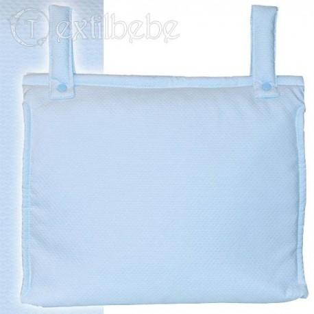 Bolso Silla|Cochecito Plastificado Creta Azul