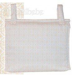 Bolso Silla|Cochecito Plastificado Bonny Beig