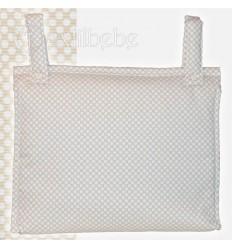 Bolso Silla|Cochecito Plastificado Lunare Lino