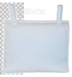 Bolso Silla|Cochecito Plastificado Lunare Gris