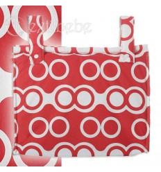 Bolso Silla|Cochecito Plastificado Oslo Rojo