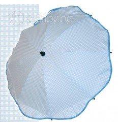 Sombrilla + Flexo Universal Cuadro Azul