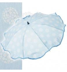 Sombrilla + Flexo Universal Esfera Azul